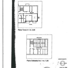 Planimetria monolocale a Paderno Dugnano